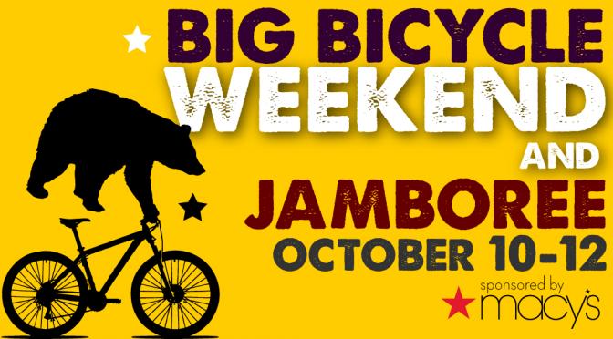 Big Bicycle Weekend Featuring the Shasta Jamboree Rides!