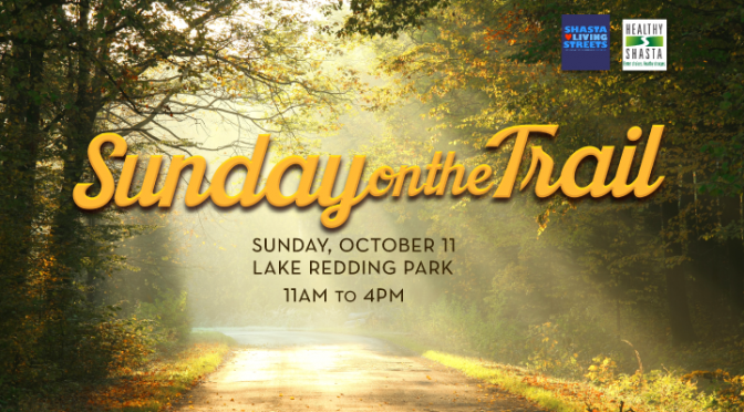 Enjoy the trail and then stop by for food, music and activities