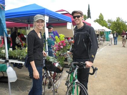 Valet Bicycle Parking at Saturday Farmers' Market