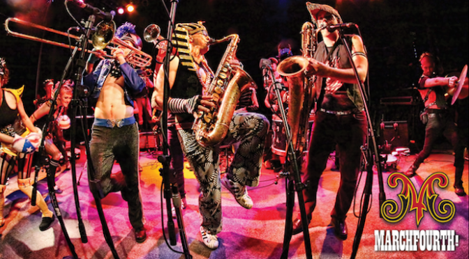 MarchFourth! A musical extravaganza and dance party