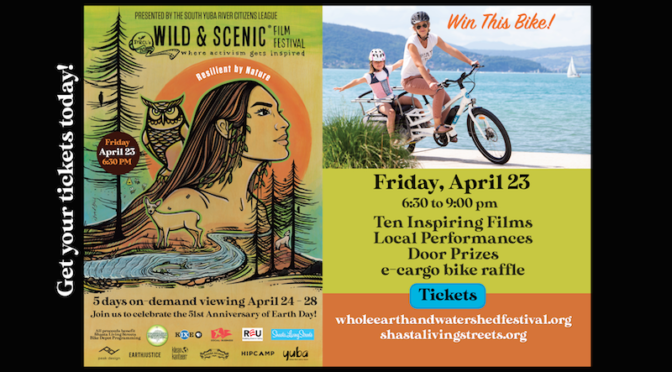 JOIN US! WILD & SCENIC FILM FESTIVAL & CARGO BIKE RAFFLE