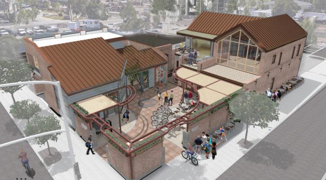 Shasta Bike Depot taking Shape